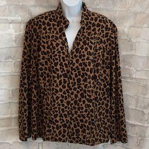Dress Barn Leopard Jacket